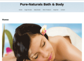 pure-naturalsbathandbody.com
