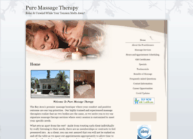 pure.massagetherapy.com