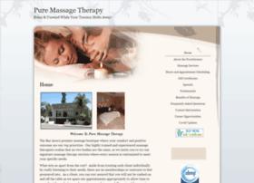 pure.massagetherapy.com