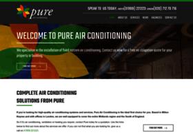 pureairconditioning.co.uk
