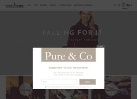 pureandco.com