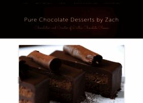 purechocolatedessertsbyzach.com