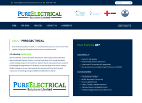 pureelectricalsolutions.co.uk