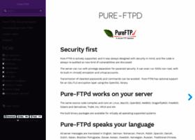 pureftpd.org