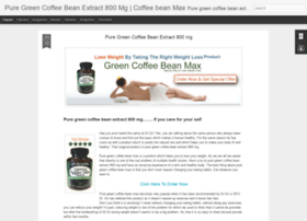 puregreencoffeebeanextract800mg.blogspot.com