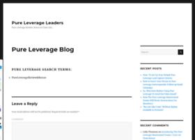 pureleverageleaders.com