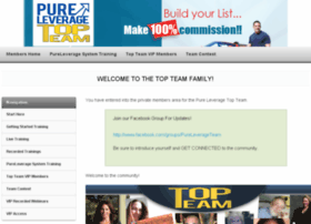 pureleveragetopteam.com