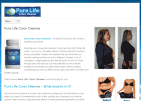 purelifecoloncleanse.org