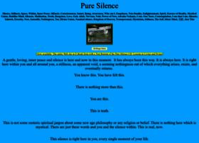 puresilence.org