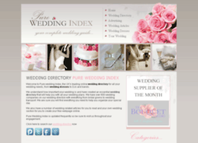pureweddingindex.co.uk