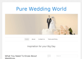 pureweddingworld.co.uk
