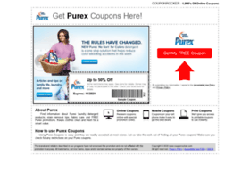purex.couponrocker.com