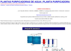 purificadorasdeagua.info