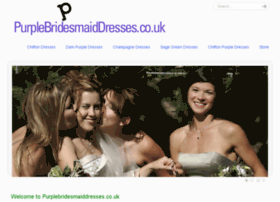 purplebridesmaiddresses.co.uk