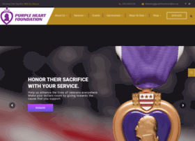 purpleheartcardonation.net