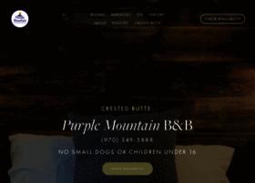 purplemountainlodge.com