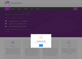 purplevoice-web.design