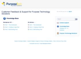 purposetech.uservoice.com