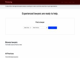 pursuing.com