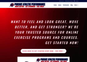 pursuitathleticperformance.com