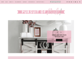 pursuitofpink.com