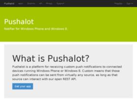 pushalot.com