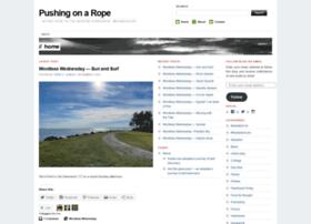 pushingonarope.com