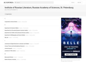 pushkinskijdom.academia.edu