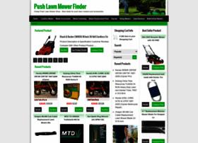 pushlawnmowerfinder.com