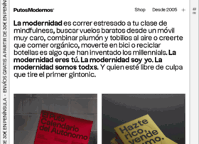 putosmodernos.com