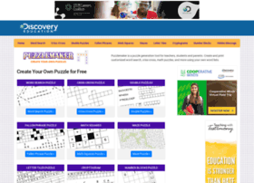 Puzzlemaker.school.discovery.com