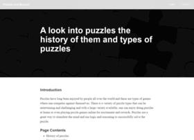 Puzzlesandbeyond.com