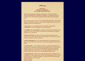 pwf.org