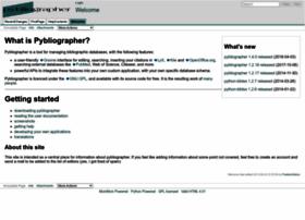 pybliographer.org
