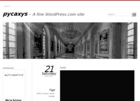 pycaxys.wordpress.com