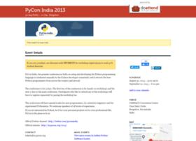 Pyconindia2013.doattend.com