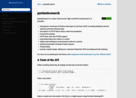 pyelasticsearch.readthedocs.org