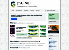 pygimli.org