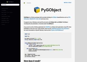 pygtk.org