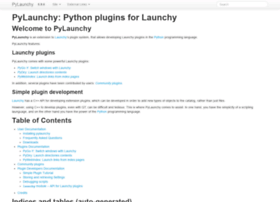 pylaunchy.sourceforge.net