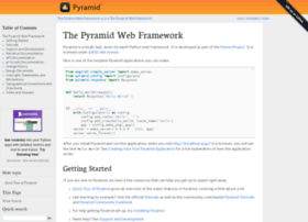 pyramid.readthedocs.org