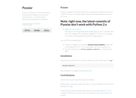 pysolar.org