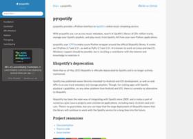 pyspotify.mopidy.com