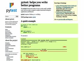 pytest.org