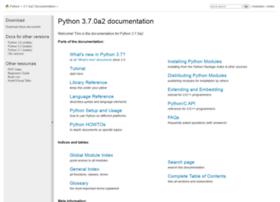 python.readthedocs.org