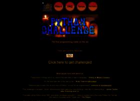 pythonchallenge.com