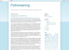pythoneering.blogspot.com