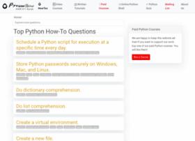 pythonhow.com