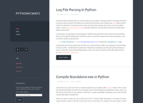 pythonicways.wordpress.com