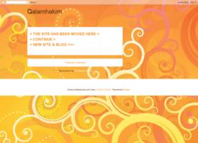 qalamhakim.blogspot.com